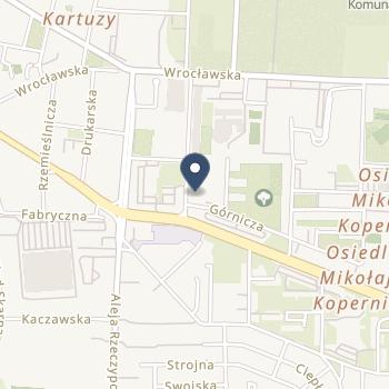 Praktyka Stomatologiczna Dariusz Przemysław Cisoń na mapie