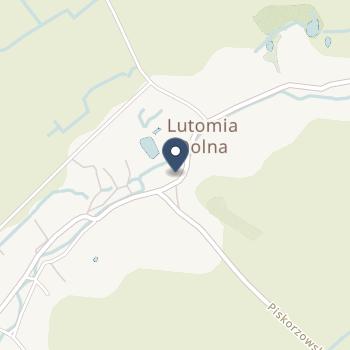 NZOZ Wiejski Ośrodek Zdrowia Lutomia Dolna na mapie