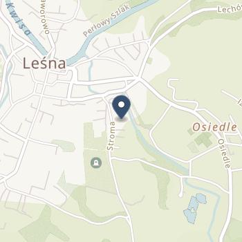 """Praktyka Lekarska""""Sanitas"""" Elżbieta Kupczak, Izabela Bolczyk na mapie"""
