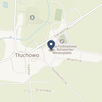 NZOZ Arsmed w Tłuchowie - Wojciech Woźnicki na mapie