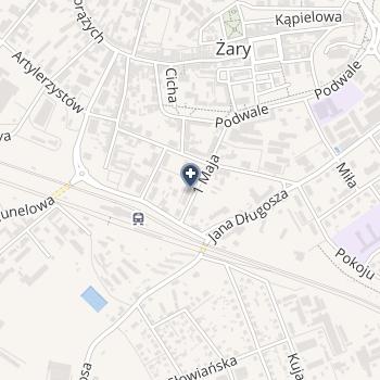 ISPL Agata Subocz na mapie