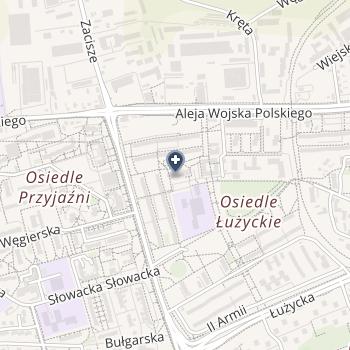 Urszula Szczepankowska ISPL na mapie