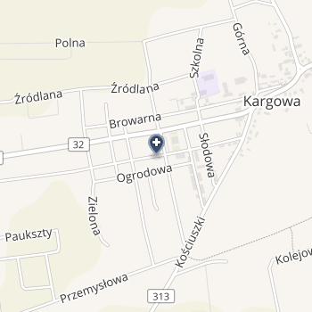 NZOZ Zakład Usług Rehabilitacyjnych Dariusz Szajer na mapie