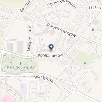 Pielęgniarska Opieka M. Rubaszewska D. Tymrakiewicz na mapie