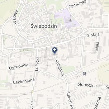 Usługi Pielęgniarskie Iwona Osada na mapie