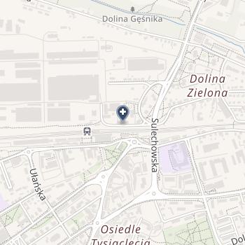 """NZOZ """"Dentex"""" Centrum Stomatologii, Ortodoncji i Protetyki na mapie"""