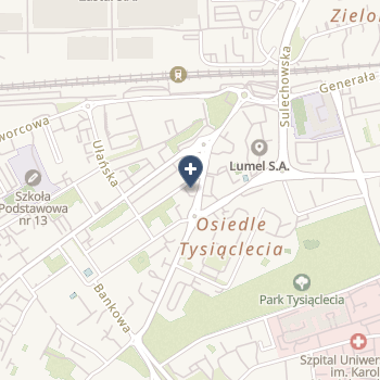 Wojewódzka Stacja Pogotowia Ratunkowego SPZOZ w Zielonej Górze na mapie