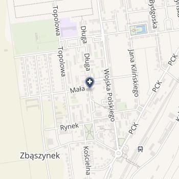 Nowy Szpital w Świebodzinie na mapie