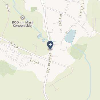 Wielospecjalistyczny Szpital w Nowej Soli na mapie
