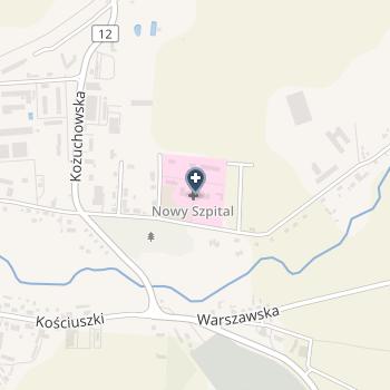 Nowy Szpital w Szprotawie na mapie