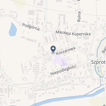 """Niepubliczny Stomatologiczny ZOZ """"Duo-Dent"""" Dorota Gacek na mapie"""