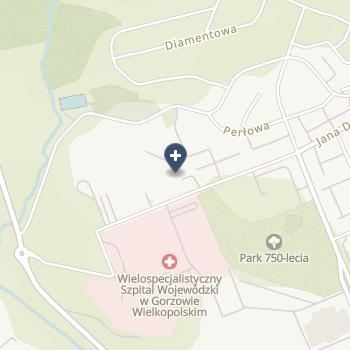 Wielospecjalistyczny Szpital Wojewódzki w Gorzowie Wielkopolskim na mapie