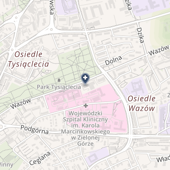 Agnieszka Jurga Specjalistyczna Praktyka Ortodontyczna na mapie