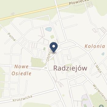 """NZOZ """"Eskulap"""" w Radziejowie na mapie"""