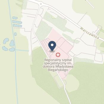 Regionalny Szpital Specjalistyczny im. Dr Władysława Biegańskiego w Grudziądzu na mapie
