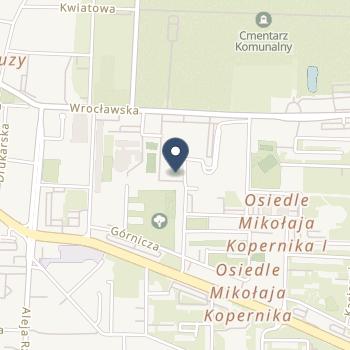 ISPL Alfreda Iżycka na mapie