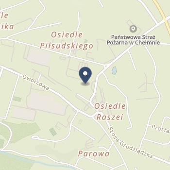 """Zespół Opieki Paliatywnej im. Jana Pawła II Hospicjum """" Światło"""" w Toruniu na mapie"""