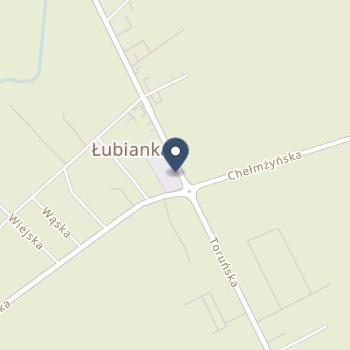 NZOZ - Gminny Ośrodek Zdrowia w Łubiance na mapie