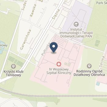 4 Wojskowy Szpital Kliniczny z Polikliniką SPZOZ we Wrocławiu na mapie