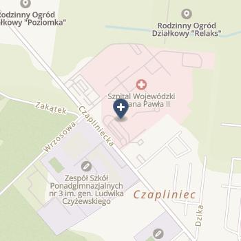 Szpital Wojewódzki im. Jana Pawła II w Bełchatowie na mapie