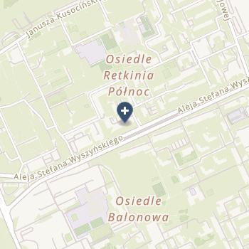 NZOZ Mediab Centrum Diabetologii na mapie