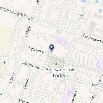 SPZOZ Aleksandrów Ł na mapie