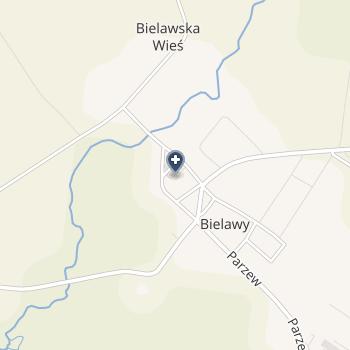 """NZOZ """"Sanitas"""" w Bielawach na mapie"""