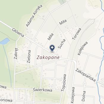 Gabinet Stomatologiczny Wiesława Grabowicz w Domaniewicach na mapie