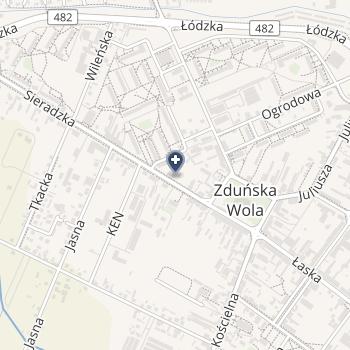 Gabinet Stomatologiczny Bo-Dent Bożena Zając w Zduńskiej Woli na mapie