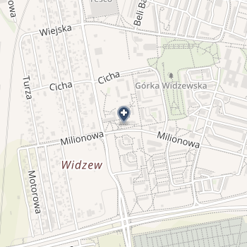 NZOZ Lekarz Rodzinny Magdalena Skrzypińska na mapie