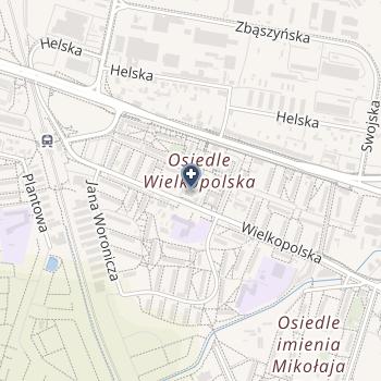 Zespół Opieki Zdrowotnej Łódź-Bałuty na mapie