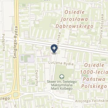 Centrum Okulistyki Oko Dziecka na mapie