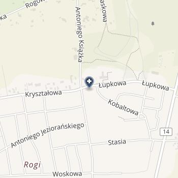Centrum Opieki Długoterminowej i Hospicyjnej - Łupkowa na mapie