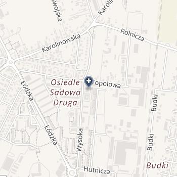 """Centrum Edukacyjno-Rehabilitacyjne """"Szansa"""" na mapie"""