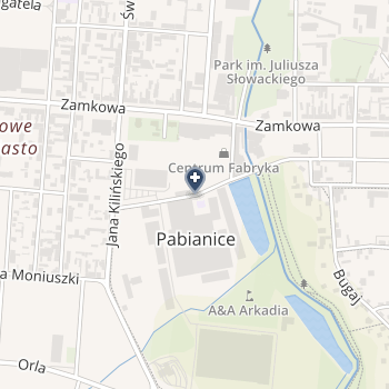 NZOZ Nasz Dentysta Katarzyna Kowalska-Frańczak, Bartosz Frańczak na mapie
