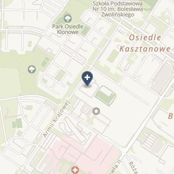 IPS Dorota Kardacka na mapie