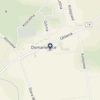 Medicenter Domaniewice na mapie