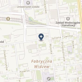 """Specjalistyczne Centrum Stomatologii """"Tmk"""" na mapie"""