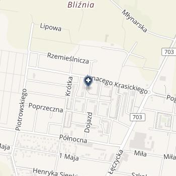 """Zespół Poradni """"Zdrowie"""" na mapie"""