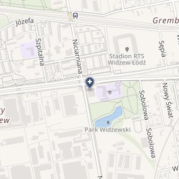 Przychodnia Anamed na mapie