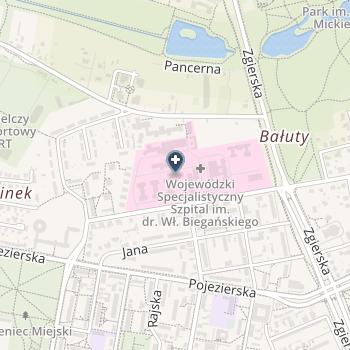 Wojewódzki Specjalistyczny Szpital im. Dr Wł. Biegańskiego na mapie