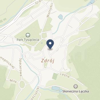 23 Wojskowy Szpital Uzdrowiskowo-Rehabilitacyjny SPZOZ w Lądku Zdroju na mapie