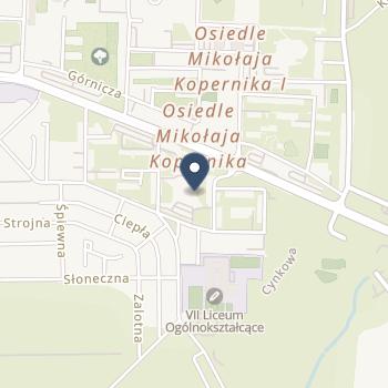 Centrum Medyczne w Legnicy na mapie