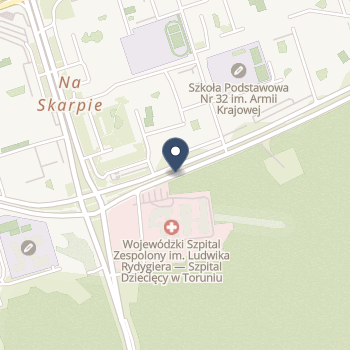 Wojewódzki Szpital Zespolony im. L. Rydygiera w Toruniu na mapie