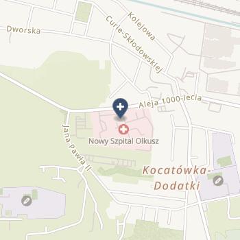 Lecznictwo Szpitalne - Nowy Szpital w Olkuszu na mapie