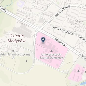 Szpital Dziecięcy na mapie