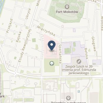 Narodowy Instytut Geriatrii, Reumatologii i Rehabilitacji na mapie