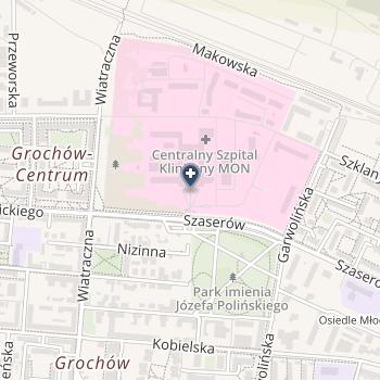 Wojskowy Instytut Medyczny na mapie