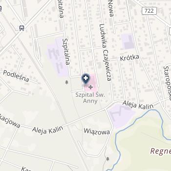 NZOZ Szpital św. Anny w Piasecznie na mapie