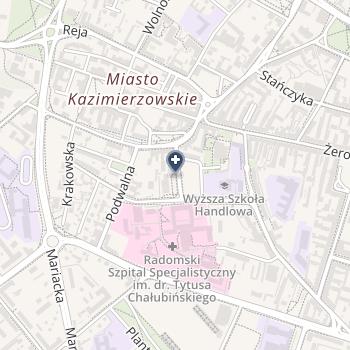 Radomski Szpital Specjalistyczny im.Dr Tytusa Chałubińskiego na mapie